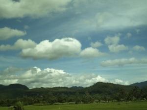 Sepanjang jalan menuju Harau